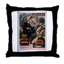 Rice's Ponderosa Throw Pillow