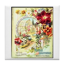 Ross Brothers Tile Coaster