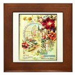 Ross Brothers Framed Tile