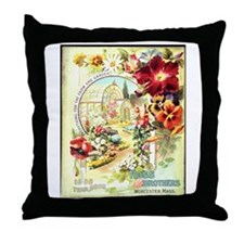 Ross Brothers Throw Pillow