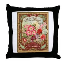 Steele Briggs Seed Co Throw Pillow