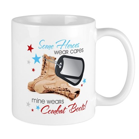 Some Heroes Wear Capes Mug