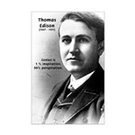 Inventor Thomas Edison: Sweat of Genius