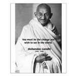 Mahatma Gandhi: Inspiring Activism Small Poster