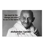 Loyalty to Cause: Gandhi Postcards (Package of 8)