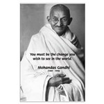 Mohandas K. Gandhi: Be the Change You Wish To See