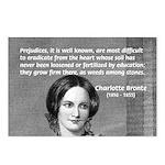 Novelist Charlotte Bronte Postcards (Package of 8)