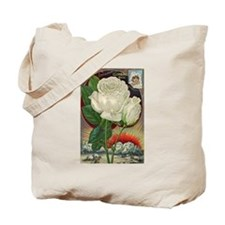 Climbing Rose Tote Bag