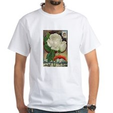 Climbing Rose White T-Shirt
