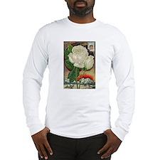 Climbing Rose Long Sleeve T-Shirt