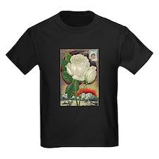 Climbing Rose Kids Dark T-Shirt