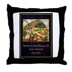 Simon & Louis Throw Pillow