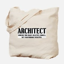 Funny Architect Tote Bag