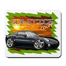 Black Solstice Coupe Mousepad