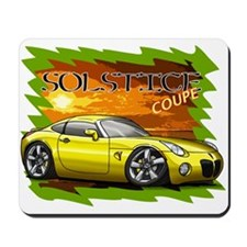 Yellow Solstice Coupe Mousepad