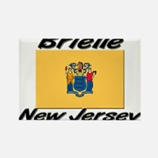 Brielle New Jersey Rectangle Magnet