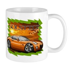 Burnt Orange Solstice Coupe Mug
