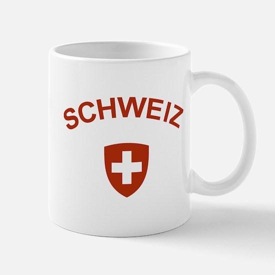 Switzerland Schweiz Mug