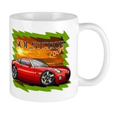 Red Solstice Coupe Mug