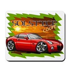 Red Solstice Coupe Mousepad