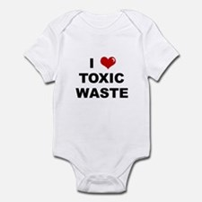 I Love Toxic Waste Infant Bodysuit