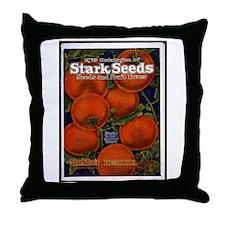 Stark Seeds Throw Pillow
