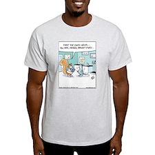 Squirrel Bright-Eyed Ash Grey T-Shirt