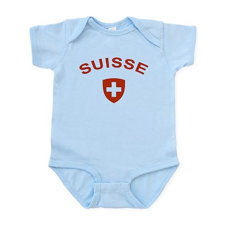 Switzerland suisse Infant Bodysuit