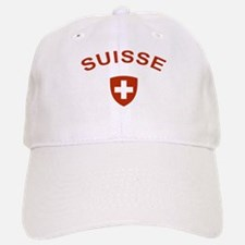 Switzerland suisse Baseball Baseball Cap