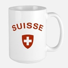 Switzerland suisse Large Mug