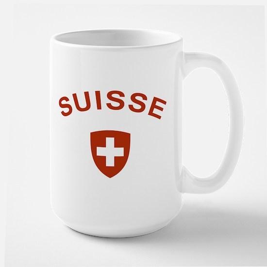 Switzerland suisse Large Mug