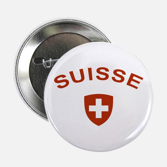 "Switzerland suisse 2.25"" Button"