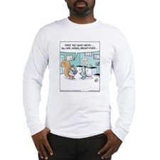 Squirrel Bright-Eyed Long Sleeve T-Shirt