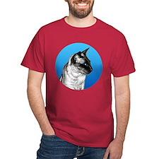 Pencil Siamese Round T-Shirt