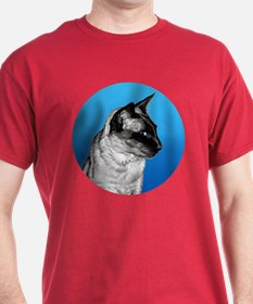 Pencil Siamese Round T-Shirt