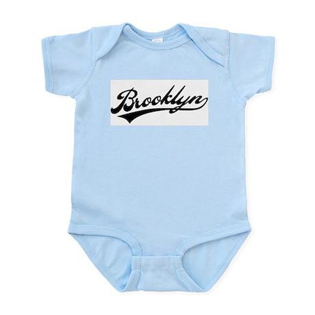 Brooklyn Baseball Logo Infant Bodysuit