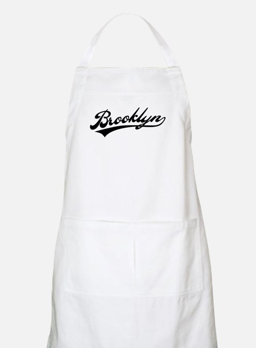 Brooklyn Baseball Logo BBQ Apron