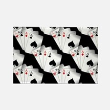 Poker Dreams Rectangle Magnet