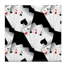 Poker Dreams Tile Coaster