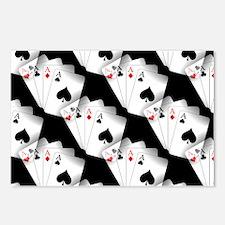 Poker Dreams Postcards (Package of 8)