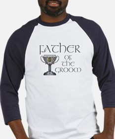 Celtic Father Groom Baseball Jersey