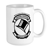 Navy squadron Large Mugs (15 oz)