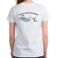 Pontoon boat & Wine Tee