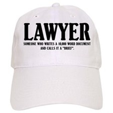 Funny Lawyer Baseball Cap