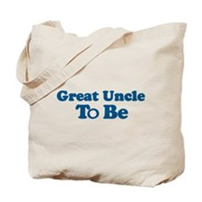 great uncle to be Tote Bag