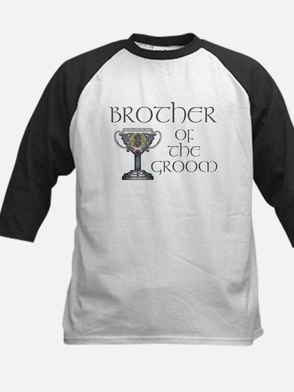 Celtic Brother Groom Kids Baseball Jersey