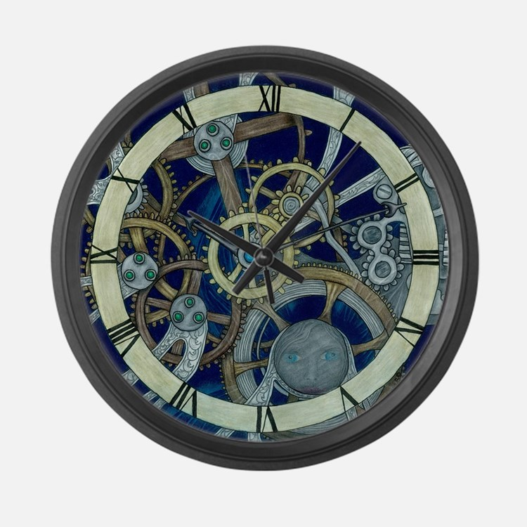 Steam Punk Clocks Steam Punk Wall Clocks Large Modern
