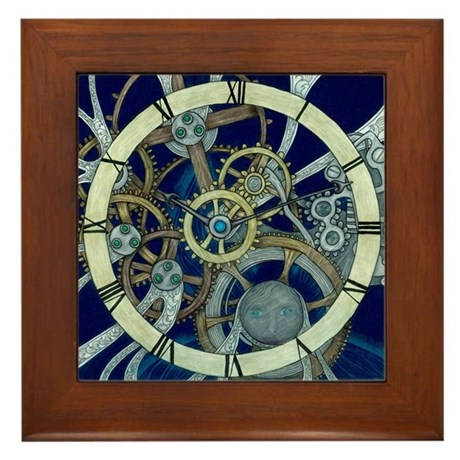 Cogs and Gears Framed Tile