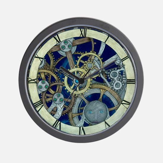 Cogs and Gears Wall Clock