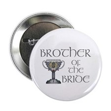 "Celtic Brother Bride 2.25"" Button"